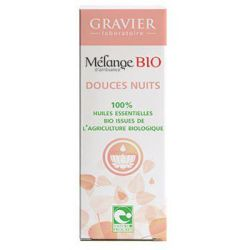 DOUCES NUITS mélange d'huiles essentielles bio pour diffuseur