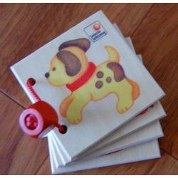 """Mini album en bois """"les animaux"""""""