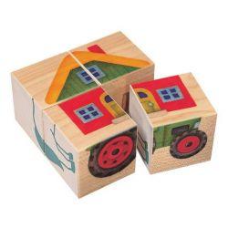 Cubes imagés la ferme