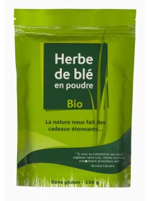 Herbe de blé 150 grs booster naturel d'immunité !