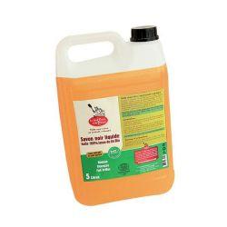 Savon noir liquide huile 100% lin 5L