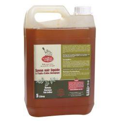 Savon noir liquide olive Bio 5L