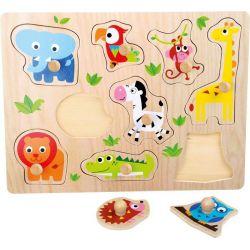 Puzzle animaux du Zoo 1+