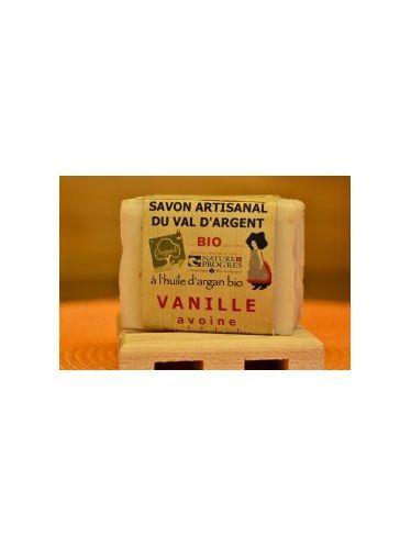 Savon bio à la vanille et à l'avoine