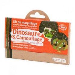 Kit de maquillage 3 couleurs Dinosaure ou camouflage