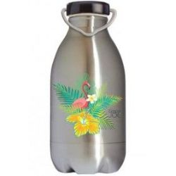 Gourde inox DAILY flamant 450 ml
