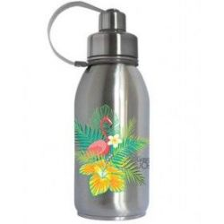 Gourde Friendly isotherme inox flamant rose 700 ml