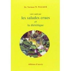 Les salades crues et la diététique