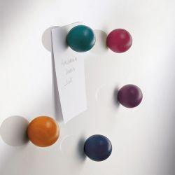 Boules magnétiques couleurs x3