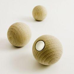 Boules magnétiques naturelles x3