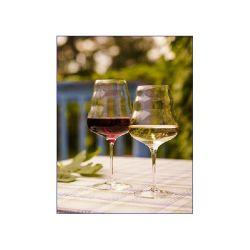 Verre à vin rouge Calix fleur de vie 50cl