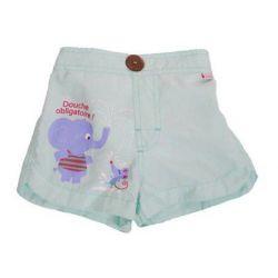 Short de bain couche intégrée éléphant
