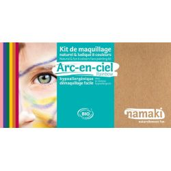 Kit de maquillage 8 couleurs Arc en ciel