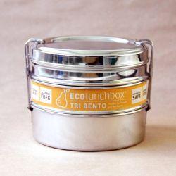ECOlunchbox inox type triple bento