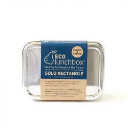 ECOlunchbox inox boîte SOLO rectangle
