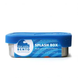 ECOlunchbox boîte bento SPLASH inox et silicone