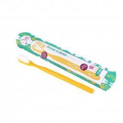 Brosse à dents rechargeable Lamazuna- jaune
