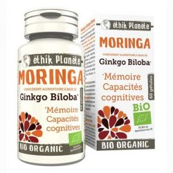 Moringa bio Mémoire 30 gélules