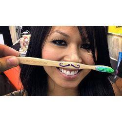 Brosse à dents écologique adulte Woobamboo