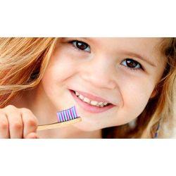 Kit 2 brosses à dents écologique enfants Woobamboo