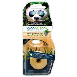 Fil dentaire biodégradable Woobamboo