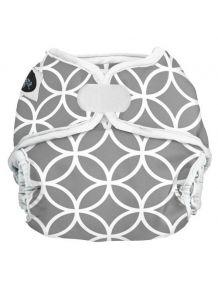 Couche lavable multi tailles Imagine - Motif gris