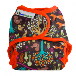 Couche lavable multi tailles BestBottom -  Forêt