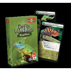 Jeu de défis nature - Reptiles