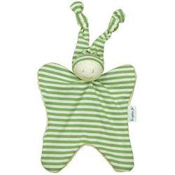 Doudou hochet Bonhomme vert 18 cm