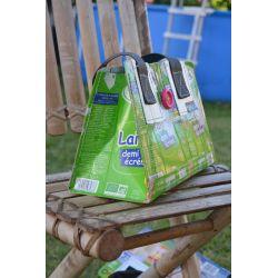 Sac recyclé - Ressac, Sac à main Léa en tetrapack