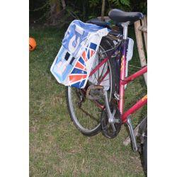 Sacoche recyclé - Ressac, Sacoche à vélo en bâche
