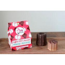Coffret cadeau Lamazuna zéro déchet, 100% Chocolat