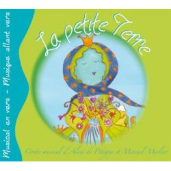 "Compte audio ""La petite Terre"" CD 4+"