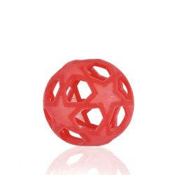 Star Ball rouge en caoutchouc naturel