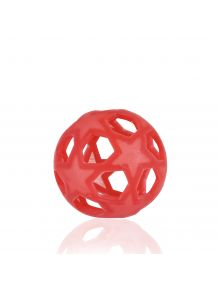 Balle Star Ball rouge en caoutchouc naturel