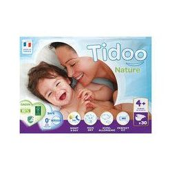 mini pack 9 à 20 kgs T4+ couches night & day TIDOO