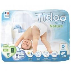 mini pack 12 à 25 kgs T5 couches night & day TIDOO