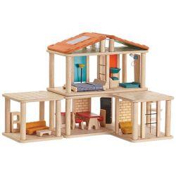Maison de poupée créative