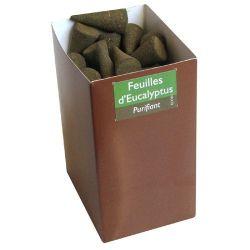 Cône encens 100% naturel feuille d'eucalyptus