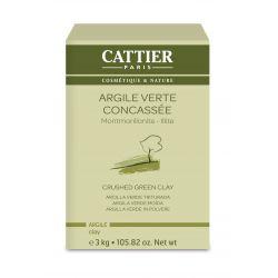 Argile Verte Concassée Cattier 3kg