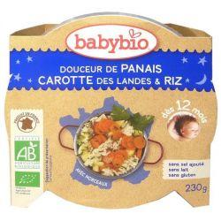 Douceur de Panais, carotte et polenta 12mois+