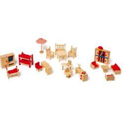 Meubles de jardin pour maison de poupées