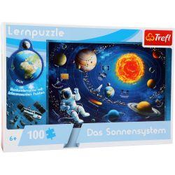 Puzzle d'apprentissage: le système solaire