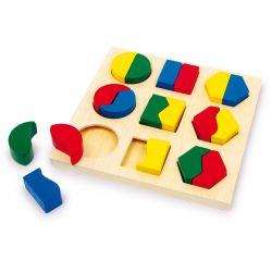 Puzzle à encastrer formes paires