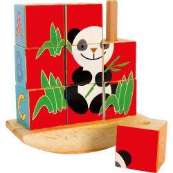 Puzzle cubes Panda