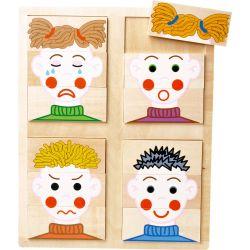Puzzle visages