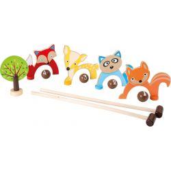 Croquet animaux des bois