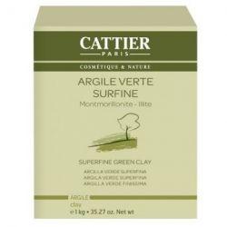 Argile Verte Surfine Cattier 1kg