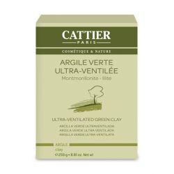 Argile Verte Ultra-Ventillée Cattier 250g