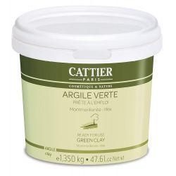 Argile Verte Ultra-Ventillée Cattier 1,35kg